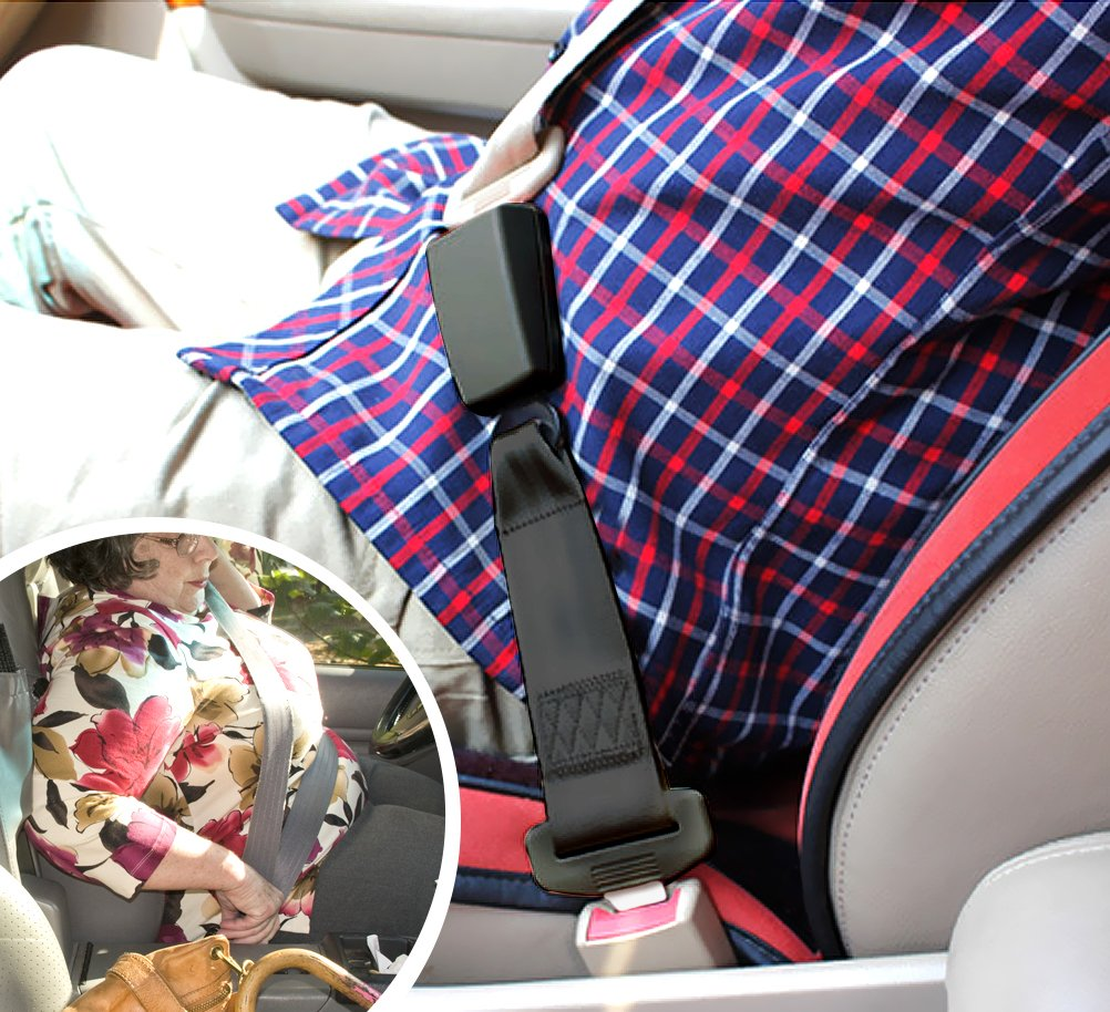 Adjustable Seat Belt Extender - E11 Safety Certified(7/8'' Metal Tongue)- Retractable Seat Belt Extension-2 Packs by Fullsexy (Image #7)