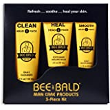 Bee Bald 3 Piece Daily Skin Care Regimen Kit