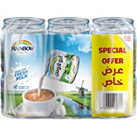 Rainbow Evaporated Milk 170g with Vitamin D 12's(Pack of 1)