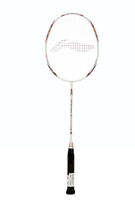 amazon com li ning g tek 58 ii badminton racquet strung s2 grip