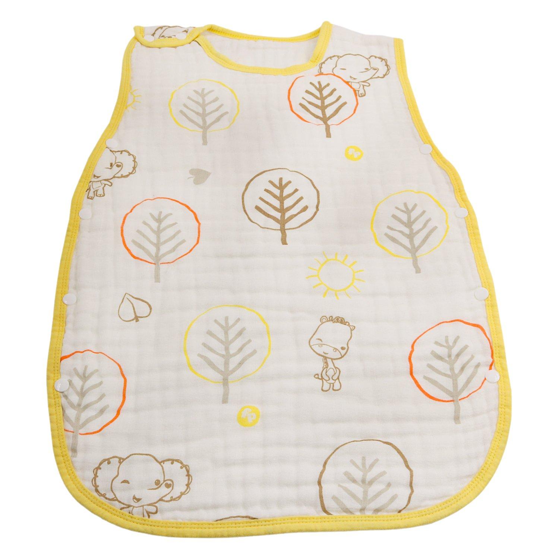 Runer saco de dormir 100% algodón swaddle-for Baby-6 capa swaddle-width15.75