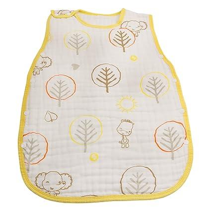 Runer saco de dormir 100% algodón swaddle-for Baby-6 capa swaddle-