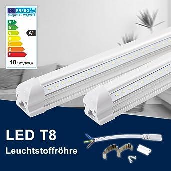 Berühmt 120CM LED Leuchtstoffröhre komplett-Set, Leuchtstofflampe mit G13 SG65