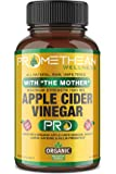 Certified Organic Apple Cider Vinegar Pro Capsules with Mother Acv Pills Detox Cleanse Appetite Control Heartburn Blood…