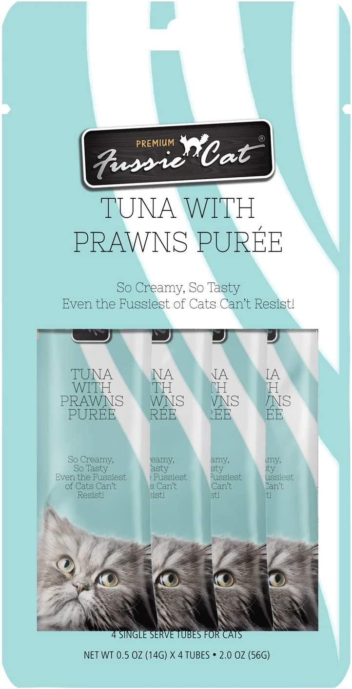 Fussie Cat Tuna with Prawns Puree