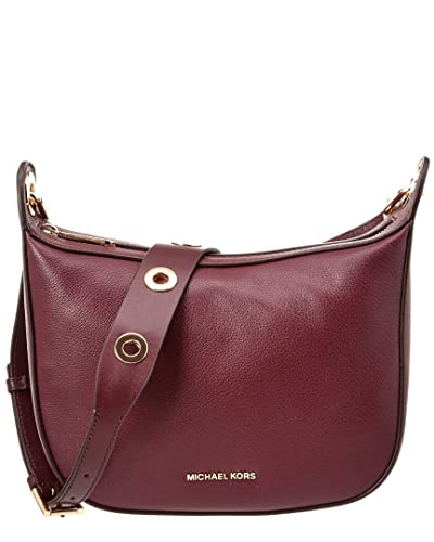 664c75e0137a Amazon.com: Michael Michael Kors Raven Medium Leather Messenger ...