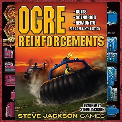 Steve Jackson Games Ogre Reinforcements Game