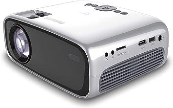 Amazon.com: Philips NeoPix Easy+ (NPX445) Mini y proyector ...