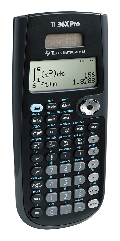Amazon texas instruments ti 36x pro engineeringscientific amazon texas instruments ti 36x pro engineeringscientific calculator electronics falaconquin