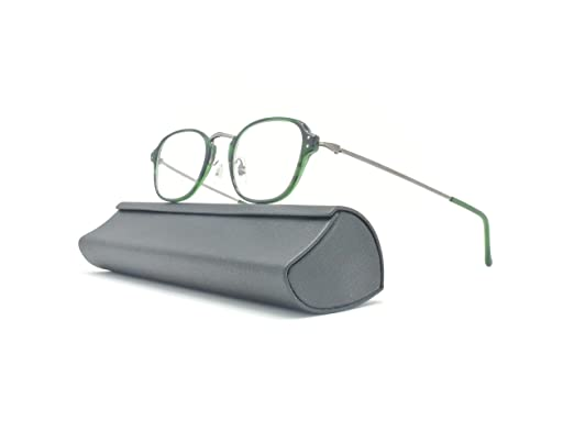 2c836557fe Brand New MASUNAGA Rectangular Eyeglasses Frames GMS-813U 45MM ( 38 Green)