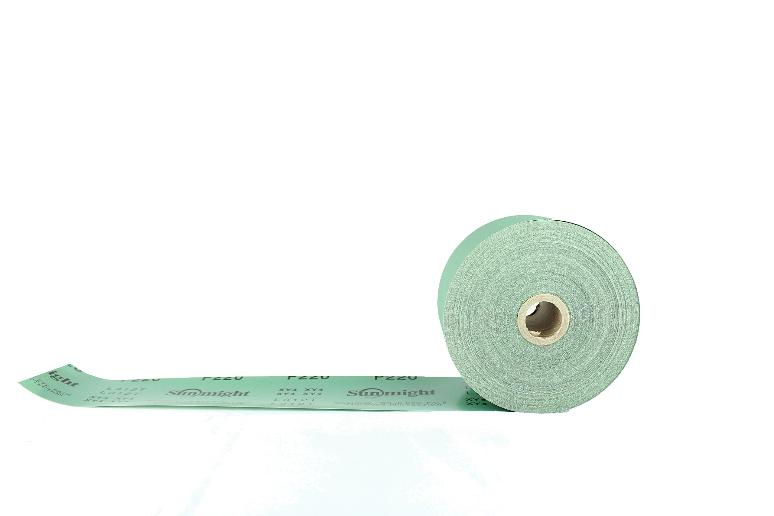 Sunmight 22111 1 Pack 2-3/4'' X 45 yd PSA Sheet Roll (Film Grit 220) by Sunmight (Image #1)