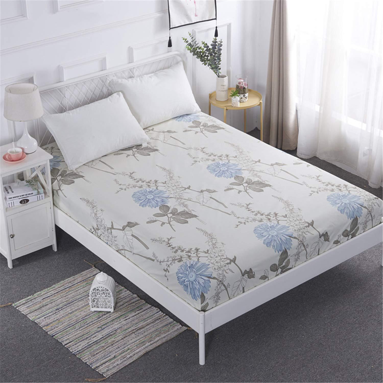 LYJZH Protector de colchón/Cubre colchón Acolchado, Impermeable ...