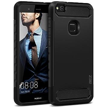 BEZ Funda Huawei P10 Lite, Carcasa Compatible para Huawei P10 Lite Ultra Híbrida Gota Protección, Cover Anti-Arañazos con Absorción de Choque ...