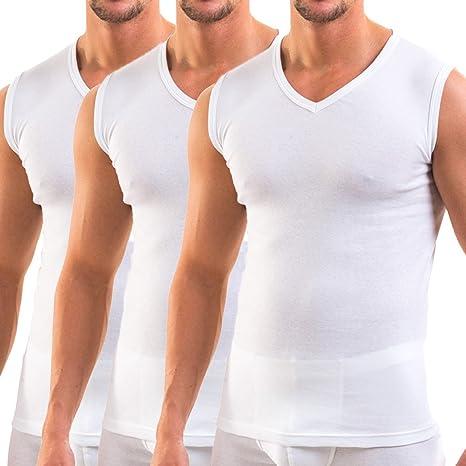 Ropa para Hombre Camiseta Interior Manga Larga HERMKO