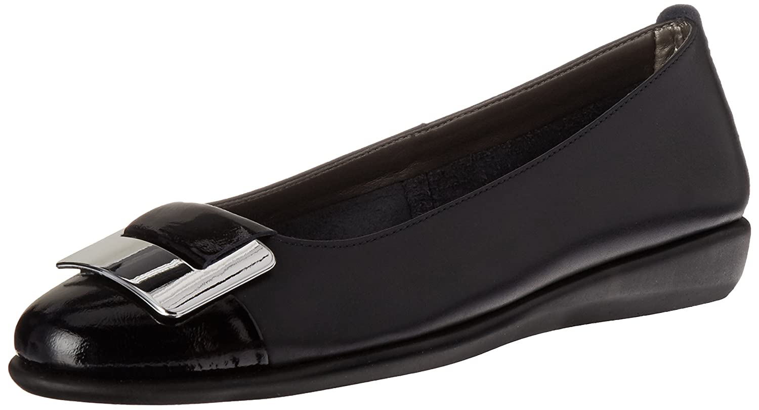 The FLEXX Women's Rise N Curry Ballet Flat B01CL7NUBA 6 B(M) US|Navy Cashmere/Lapo