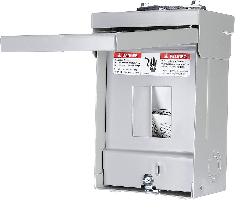 60 Amp Circuit Breaker enclosure Siemens E0204ML1060F Flush Mount