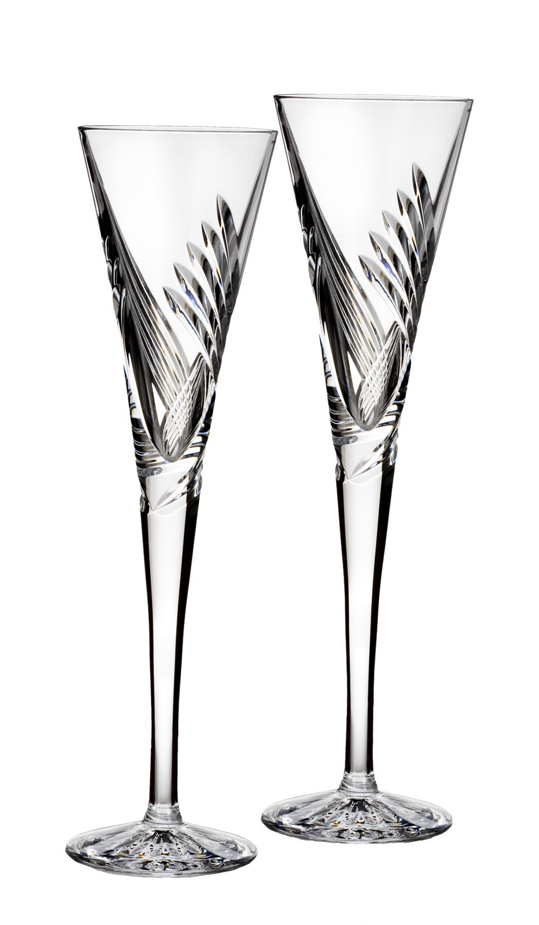 Waterford Wishes''Beginnings'' Flute Pair, 5-Ounce