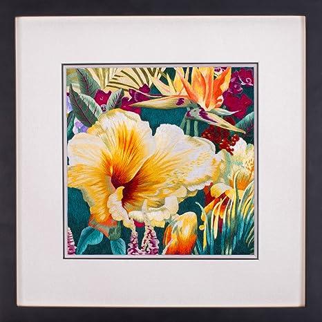 2500 seda Art 100% hecho a mano bordado Amapolas Oriental arte pintura asiática decoración tapiz