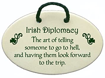 Amazon.com: Mountain Meadows Pottery Irish Diplomacy. The Art of ... #irishCoffee