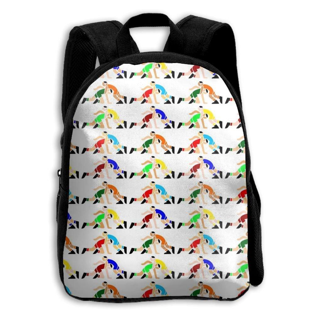 ERTOUGN22 Backpack For Girls Wrestling Wrestlers Backpack School College Bag For Teens Girls Students by ERTOUGN22