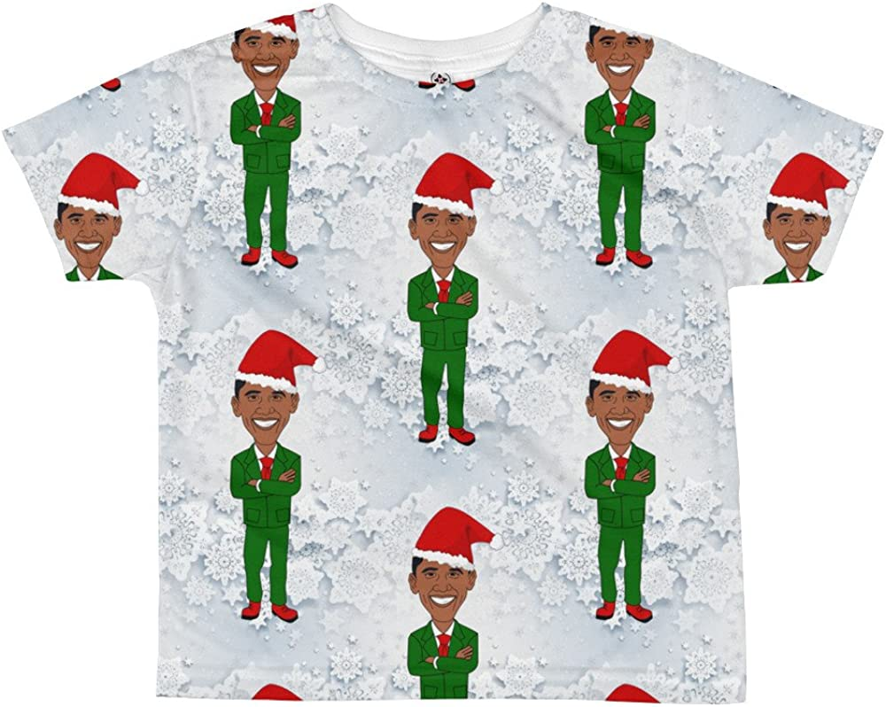 african santa claus All-over youth sublimation T-shirt tee shirt top