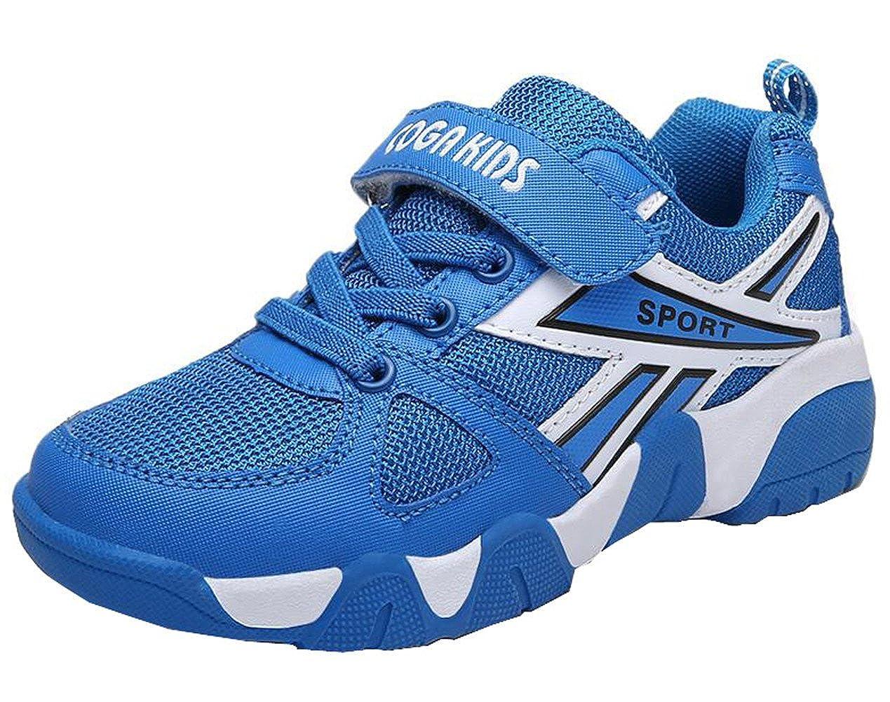 DADAWEN Boy's Girl's Waterproof Casual Outdoor Strap Basketball Sneakers (Toddler/Little Kid/Big Kid) 70677