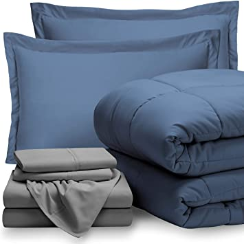 split king comforter sets Amazon.com: 8 Piece Bed In A Bag   Split King (Comforter Set  split king comforter sets