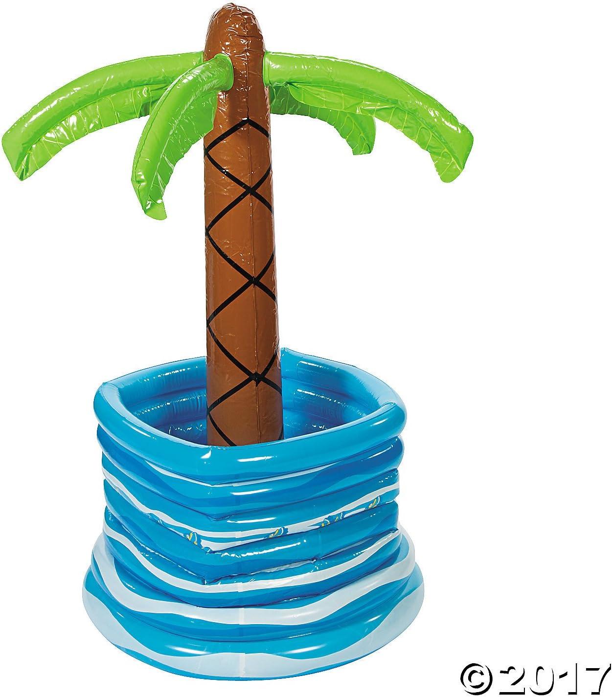 Enfriador para botellas de billar en palmera hinchable: Amazon.es ...