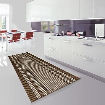 Teppich Läufer Küche teppichläufer koos beige läufer teppich brücke flur küche meterware