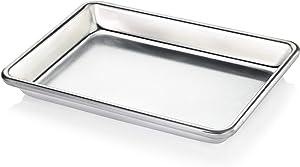 New Star Foodservice 33977 Commercial-Grade 18-Gauge Aluminum Sheet Pan/Bun Pan, 9 2/3