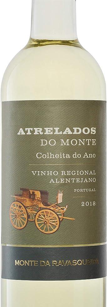 Atrelados do Monte - Colheita do Ano de vino blanco de Alentejo, botella de 75 cl (6 botellas)