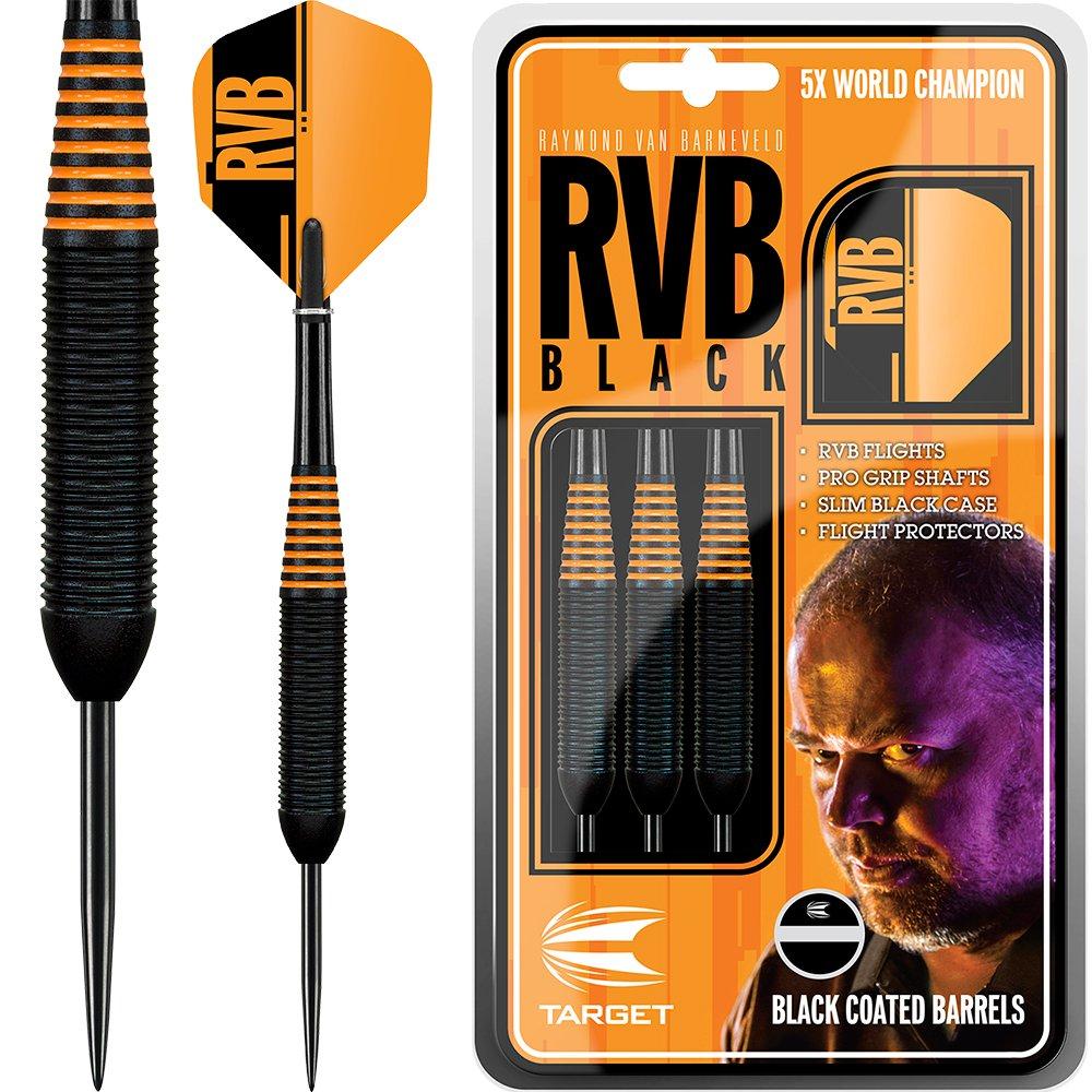 Target Raymond van Barneveld Darts/ /RVB schwarz Messing Barney 24/g/ /mit Darts Ecke gebogen Kugelschreiber