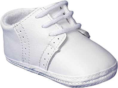 Baby Boys All White Genuine Leather