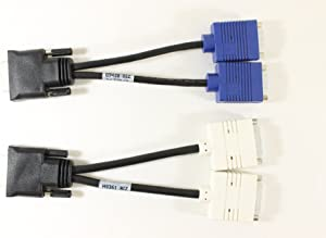 Dell J9256 DMS-59 TO DVI & VGA Splitter Cable Kit