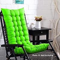 AMZ Exclusive Premium Quality Soft Rocking Chair Cushions Home Cotton Cushion Long Chair Pad (48 x 16 inches,Set of 1)