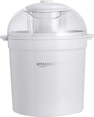 AmazonBasics 1.5 Quart Automatic Homemade Ice Cream Maker
