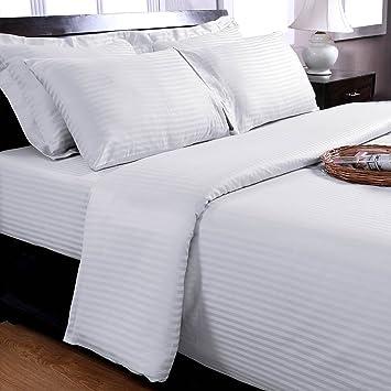 Homescapes 3 Teilige Damast Bettwäsche 240 X 220 Cm Weiß 100