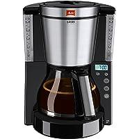 Melitta, Filterkaffeemaschine mit Glaskanne, LOOK Timer, Patentierter AromaSelector