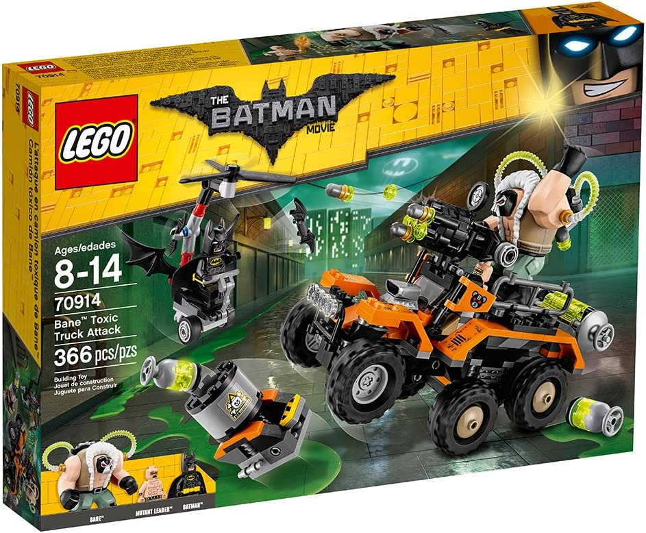 LEGO THE BATMAN MOVIE 70914 INSTRUCTION MANUAL ONLY