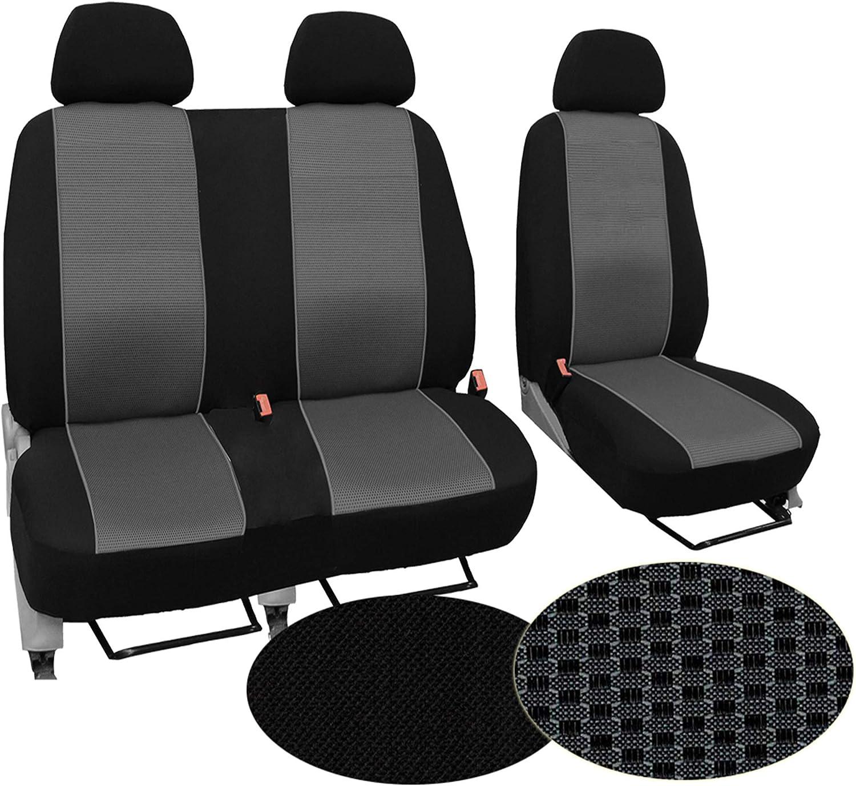 GSC Sitzbez/üge Universal Schonbez/üge 1+2 kompatibel mit FIAT DUCATO I
