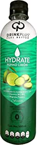 DrinkPlus Bebida Natural, Pepino Limón, 500 ml