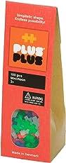 PLUS PLUS - Construction Building Toy, Open Play Set - 100 Piece - Neon Color Mix