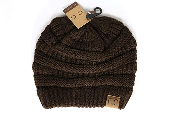 ad1e7980371d36 Crane Clothing Co. Women's Classic CC Beanies One Size Army at Amazon Women's  Clothing store: