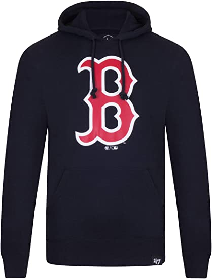 Boston Red Sox Baseball Pullover Hooded Sweatshirt