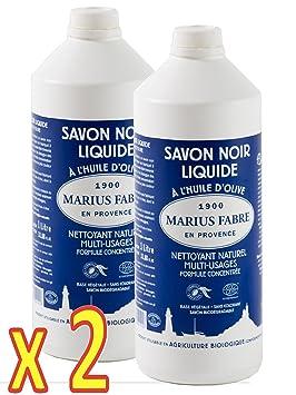 bc317e9486d1e Marius Fabre - SAVON NOIR LIQUIDE ˆ l HUILE d OLIVE - Nettoyant Naturel