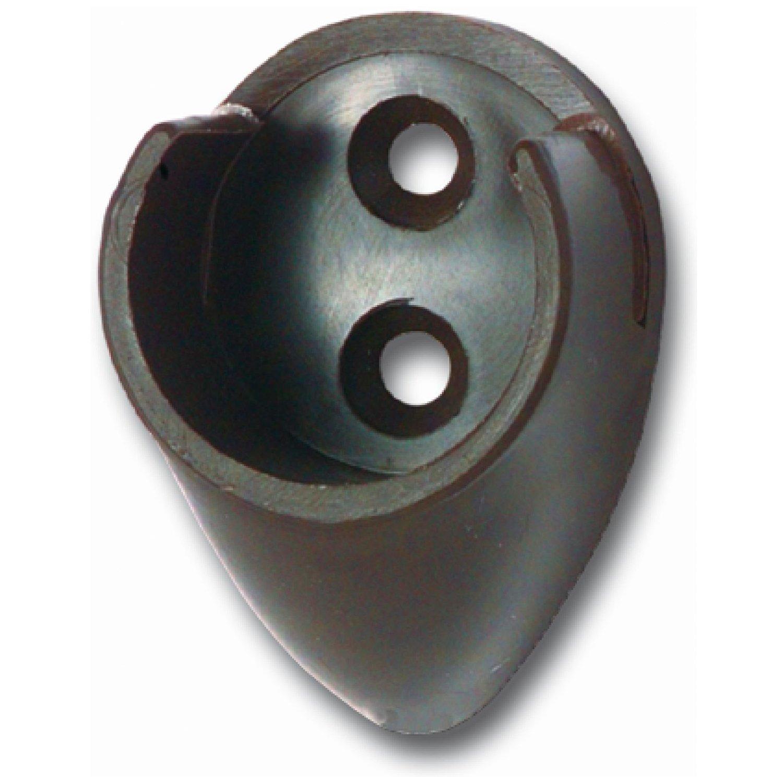 klappbar Stahl wei/ß f/ür 8 Kleiderb/ügel Kleiderhaken SECOTEC Kleiderl/üfter 1 St/ück
