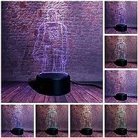 Tatapai 3D Illusion Lamp Led Night Light Basketball Figure Kobe Bryant Visual 7 Colors Changing Flash Light Sporter…