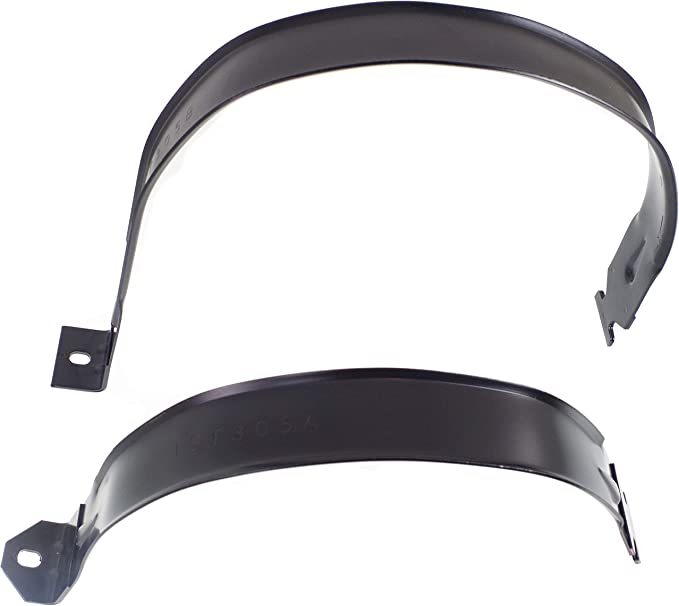 Compatible with 2003-2010 Dodge Ram 2500 Fuel Tank Straps Set of 2 with 35 Gallon Tank