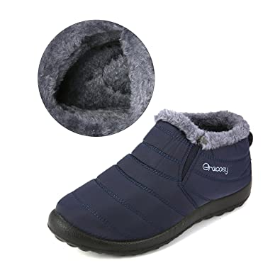 ee1a9df31959 gracosy Warm Snow Boots
