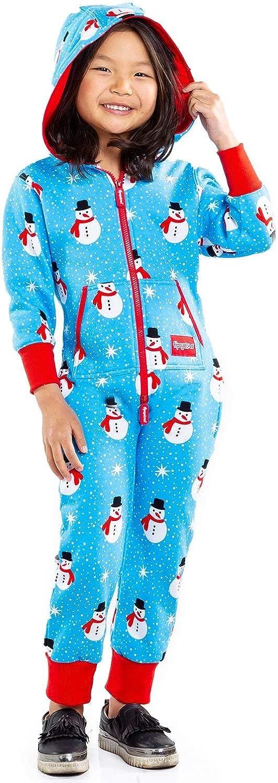 Youth Snowman is an Island Christmas Pajamas Cute Xmas PJs for Kids